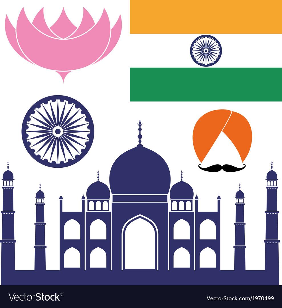 India vector | Price: 1 Credit (USD $1)