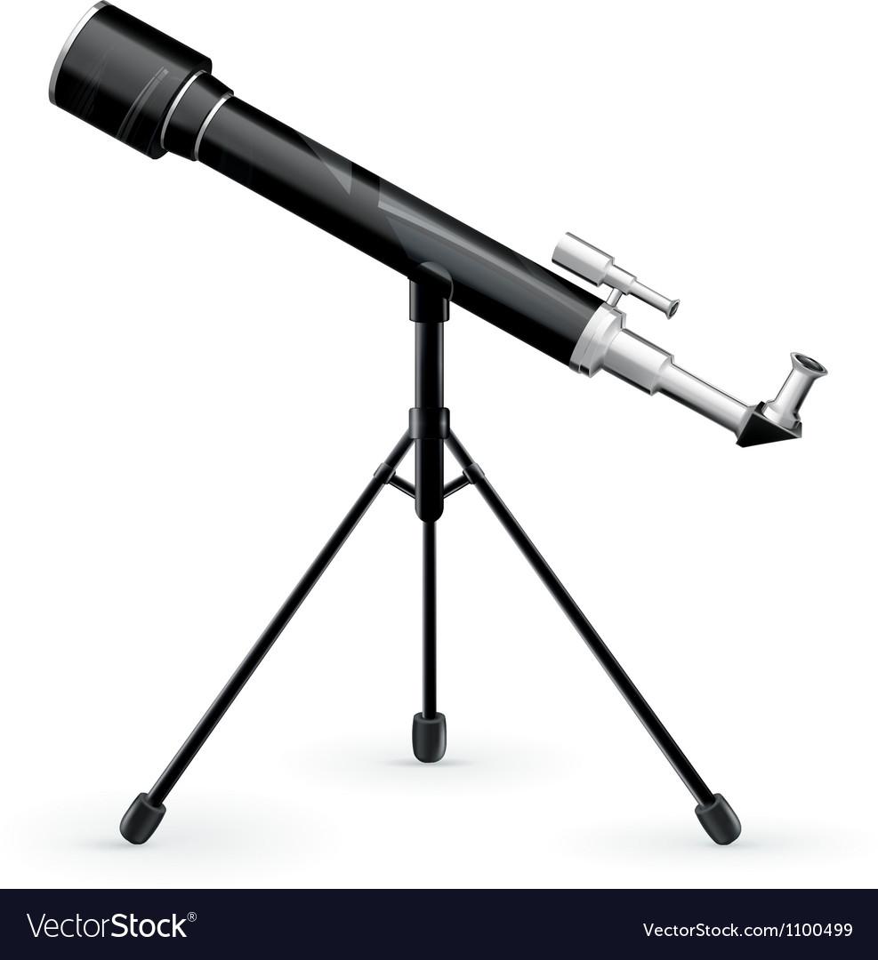 Telescope vector | Price: 1 Credit (USD $1)