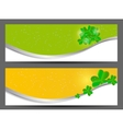 Saint patricks day banner vector