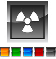 Radiation icons vector