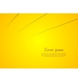 Vibrant yellow corporate art background vector