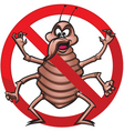 No bed bugs vector
