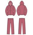 Sport suit vector