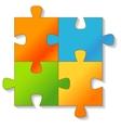 Jigsaw puzzle vector