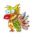 Jolly parrot vector