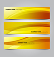 Business abstract banners vector