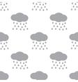 New rain seamless pattern vector