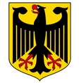 Coat of arms of germany vector