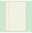 Checkered sheet vector