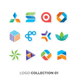 Logo collection 01 vector