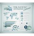 Big set of traffic infographic elements vector