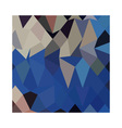 Bluebonnet abstract low polygon background vector