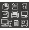Office icon vector