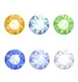 Set of jewels vector