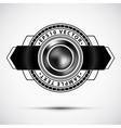 Abstract premium badge vector