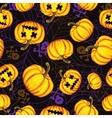Halloween background  template for design vector
