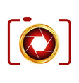 Digital camera- photography logo vector