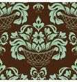 Ornamental floral background vector