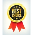 Best choice golden label vector