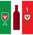 Italian enoteca vector