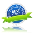 Best choice icon vector