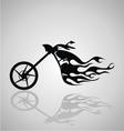 Motorcycle tribal vector