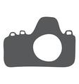 Retro camera icon vector