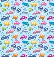Cars seamless pattern vector