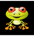 Abstract frog vector