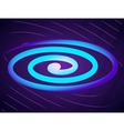 Abstract background with spiral vector