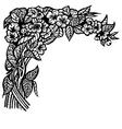 Jasmine branch vector