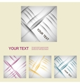 Set of abstract line background eps10 vector