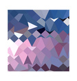 Celestial blue abstract low polygon background vector