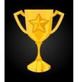Winner icon vector