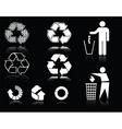Eco symbols vector