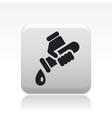 Drop water tube icon vector