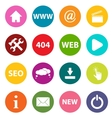 New web icons vector