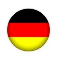 German flag button vector