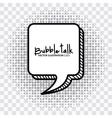 Bubble talk vector