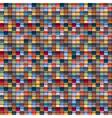Geometric multicolored background vector