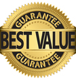 Best value guarantee gold label vector