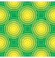 Green circle seamless pattern vector