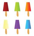 Ice cream color vector