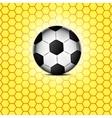 Soccer ball icon flat design vector
