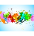 Abstract gunge background vector