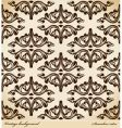 Seamless background medieval ornament retro vector