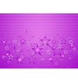 Bright purple concept design vector