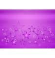 Bright purple concept design vector
