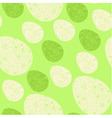 Seamless easter eggs pattern vector