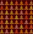 Yoga pattern vector